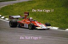 Clay Regazzoni Ferrari 312 B3 Brazilian Grand Prix 1974 Photograph 1