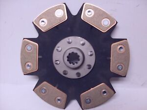 FITS FORD 1510 1710 1715 1725 1900 1925  tractor heavy duty  clutch disc