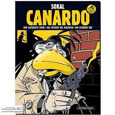 Sokal Ein Fall für Inspektor Canardo SB 1 COMIC 9783941239692 KRIMI NOIR 60er LP