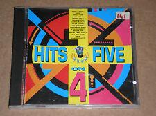 HITS ON FIVE 4 (SOUL II SOUL, DOUBLE YOU, MOLELLA, DOUBLE DEE) - CD