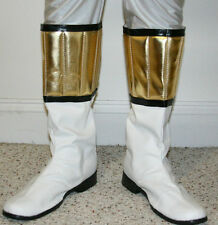 White Power Ranger Boots Mighty Morphin Power Rangers - Custom Made / Sizes
