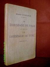 «DRESSAGE de FRAM CHIEN d'ARRET....» DOMMANGET Chasse Hunt Elevage Dog 1910 !