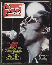 CIAO 2001 44/77 ROCK PROG MAG GABRIEL IGGY POP GENTLE GIANT LOCANDA DELLE FATE