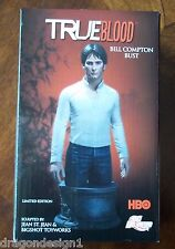 TRUE BLOOD. BILL COMPTON LIMITED EDITION BUST (860/5000). HAND-PAINTED PORCELAIN