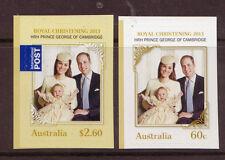 AUSTRALIA 2014 ROYAL CHRISTENING SELF ADHESIVE UM, MNH