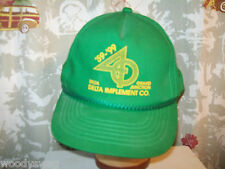 Delta Implement Co Grand Junction Green Ball Cap Hat Trucker Snap back One size