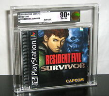 RESIDENT EVIL SURVIVOR - VGA 90+ SONY PLAYSTATION PS1 ~ MINT FACTORY SEALED NEW