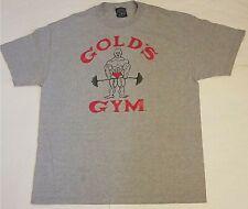 Vtg Gold's Gym Gray T-Shirt (Men's XL) Made in USA
