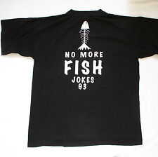 NO MORE FISH JOKES 93 - Tour 1993 - Crew - T-Shirt (L) schwarz