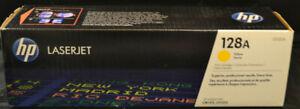 HP Toner Gelb CE 322, 128A LaserJet, Konkursware