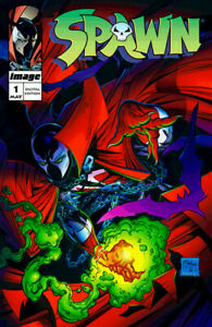 Spawn #1 (May 1992, Image) First Printing, Mint Condition