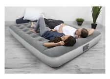 Queen Size Air Bed Mattress Inflatable With Built-In Ac Pump Sleeping Camping