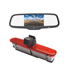 Reverse Camera Rear Mirror Monitor for Fiat Doblo / Opel Combo / Vauxhall Combo