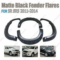 Fender Flares For Toyota Hilux SR SR5 Fender 2011-2014 ABS High Quality Matt