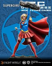 CAVALIERE modelli DC Miniatures NUOVO CON SCATOLA Supergirl dcun006