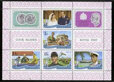 Cook Islands   1971   Scott # 301a    Mint Never Hinged Souvenir Sheet