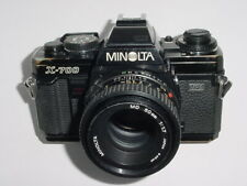 MINOLTA X-700 MPS 35mm Film Manual Camera with Minolta 50/1.7 MD Lens