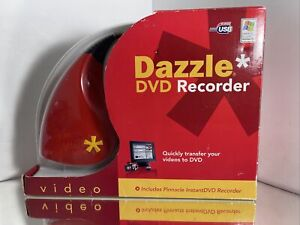 Pinnacle Dazzle DVD Recorder Transfer VHS to DVD - New