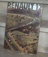 RENAULT 12 CATALOGUE PROSPEK BROCHURE