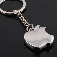 Apple logo Metal Key Chain Creative Gifts Apple Keychain Key Ring
