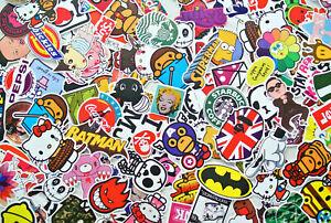 x15 random vinyl decal graffiti sticker bomb laptop suitcase skateboard car bike