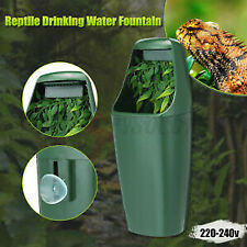 New listing Reptile Drinking Water Fountain Humidifier Chameleon Lizard Dispensers Us