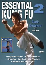 Essential Shaolin Kung Fu #2 Double Broadsword instructional Dvd Gm Eric Lee