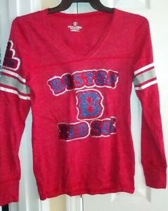Holloway Juniors Boston Red Sox Shirt Size: Large