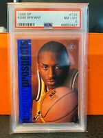 1996 SP Basketball Kobe Bryant ROOKIE RC #134 PSA 8 LAKERS HOT!