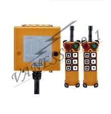 6Key Crane Industrial Remote Control Wireless Transmitter Push Button Switch