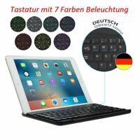QWERTZ Beleuchtet Tastatur Für iPad 2019 2018 10.2 9.7 Air 1 2 DEUTSCHE Keyboard