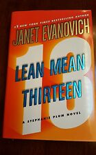 1st Edition Lean Mean Thirteen 13 by Janet Evanovich 1st Printing Hardcover