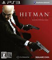 PS3 Sony Hitman Absolution Japan Import NTSC-J PSX PlayStation3