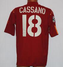 Cassano Roma home jersey 2004 2005 DIADORA XXL jersey as roma