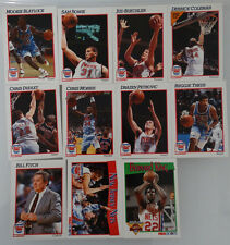 1991-92 Hoops New Jersey Nets Team Set Of 11 Basketball Cards