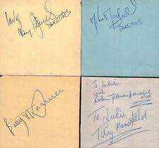 BILLY J KRAMER & THE DAKOTAS (1964) SIGNED AUTOGRAPHS