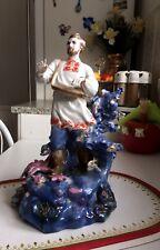 "Porzellanfigur ""SADKO"" Held von Volksfolklore UdSSR Ukraine Kiev CCCP Rar Top!"
