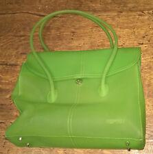 Handtasche von Esprit, apfelgrün transparent, wenig getragen, neuwertig