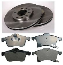Opel Corsa C C 1.7 CDTI Front Brake Pads and Discs 2003-2009