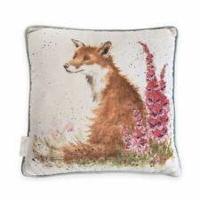 Wrendale Designs - 'Foxgloves' Fox Cushion