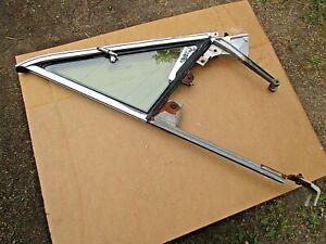DODGE PLYMOUTH 64 65 66 DART VALIANT BARRACUDA RH VENT FRAME WINDOW GLASS TINTED
