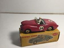 Vintage Dinky 107 Sunbeam Alpine Sports Within Its Original Box