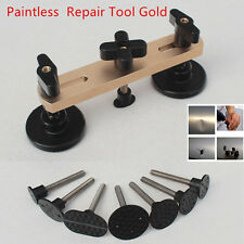 7PCS Paintless Car Auto Bridge Dent Puller Remover Repair Hand Tool Kits Gold