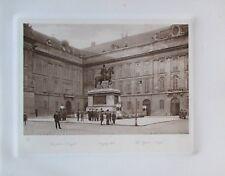 Heliogravur aus 1910 - Josephsplatz Wien Österreich - Kunstblatt