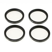 37mm +1 +2 +4 +10 Close-Up Macro Filter Set+Bag for Nikon Canon Tamron DSLR