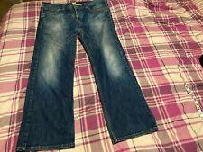 HUGO BOSS Orange stretch slim fit denim Jeans Men's Casual 38/34 Long straight