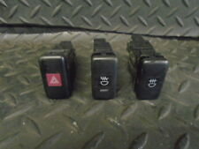2002 DAIHATSU SIRION 1.3 F-SPEED 5DR AUTO HAZARD WARNING & FOG LIGHT SWITCHES