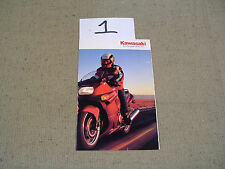 Kawasaki Vintage 1992 ZX 600-D3 Brochure ( In hand ships free today )