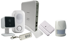 Complete home security wireless alarm + cctv system, fully functional.