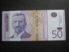 SERBIA 2011 ISSUE - 50 DINARA P56b - DATED 2014 - UNCIRCULATED
